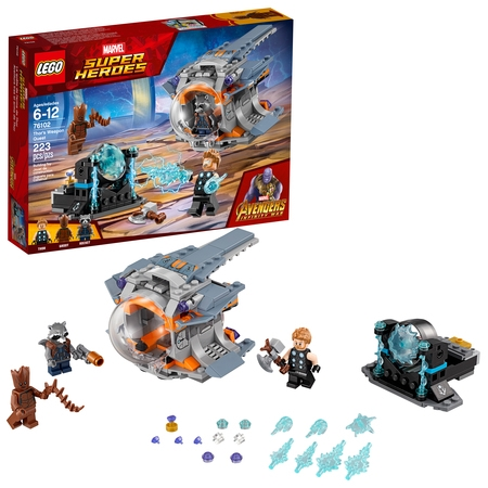 LEGO Super Heroes Marvel Thor's Weapon Quest 76102 - Supper Hero