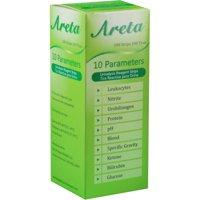 Areta 10 Parameter Urinalysis Reagent Test Strips, 100 Ct