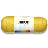 Caron Simply Soft Yarn, Lemonade