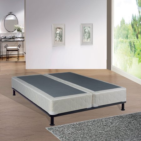 - WAYTON, 8-Inch Split Box Spring/Foundation For Mattress, No Assembly Required, 48