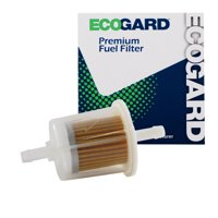 ECOGARD XF20011B Small Engine Fuel Filter ? 1/4? or 5/16? Line - Fits Lawn Mowers | Tractors | Generators | ATVs and More
