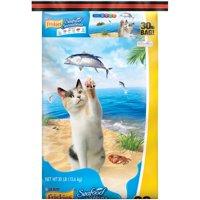 Friskies Seafood Sensations Dry Cat Food, 30 lb