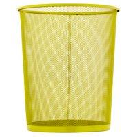 Honey Can Do 4.75-Gallon Round Mesh Metal Trash Basket, Multicolor