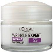 L'Oreal 55+ Wrinkle Expert Day/Night Moisturizer, 1.7 fl oz