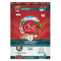 Purina ONE SmartBlend Natural Large Breed Formula Dry Puppy Food - 16.5 lb. Bag