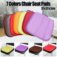 """15""""x15"""" 1.5CM Thickness Square Soft Dinning Chair Seat Pad Cushion Mat with Ties For Home Garden Patio Office Outdoor Indoor"""