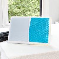 Modern Sleep Reversible Cool Gel and Memory Foam Pillow, Standard