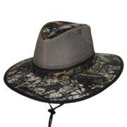 192a89d6cfe Break-Up Mesh Cotton Aussie Hat In Camouflage - Medium