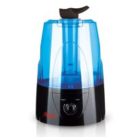 Rosewill Ultrasonic Cool Mist Humidifier with Adjustable Dual Nozzles Whisper Quiet 5 Liter / 1.3 Gallon, Black, RHHD-14002