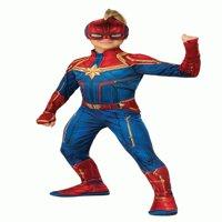 Captain Marvel Costume Girls Hero Suit