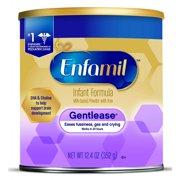 Enfamil Gentlease (Pack of 6) Baby Formula – 12.4 oz Powder Can