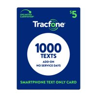 TracFone $5 Text Only (No service days) Plan (Email Delivery)