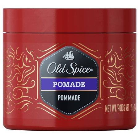 Old Spice Pomade, 2.64 oz. - Hair Styling for Men - 1970 Mens Hair