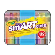 Crayola Ultra SmART Case, Coloring and Art Supplies, Gift for Kids, 150 Pieces