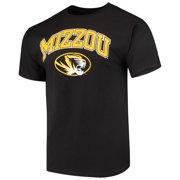 ea351700a020 Men s Russell Black Missouri Tigers Core Print T-Shirt