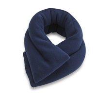 Sunny Bay Extra Long Neck Heating Wrap, Microwavable Heat Pad, Heated Neck Wrap (Midnight Blue)