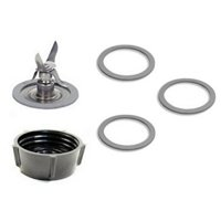 Oster 4961 Ice Crusher Blade, Gasket O-Rings, Jar Base Screw Cap Kit
