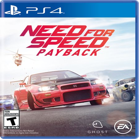 Need for Speed Payback, Electronic Arts, PlayStation 4, 014633735222 ()