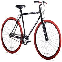 Kent 700C Men's, Thruster Fixie Bike, Black/Red