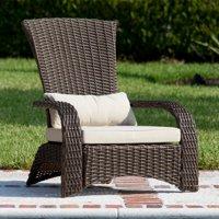 Patio Sense Deluxe Coconino Wicker Chair
