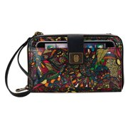 fca65c01a Sakroots Women Artist Circle Large Smartphone Crossbody One Size Black US