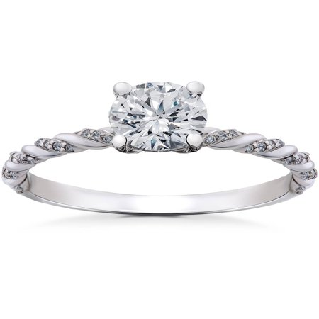 1/6 ct Diamond Mia Engagement Ring -