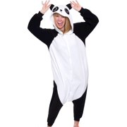 SILVER LILLY Unisex Adult Plush Animal Cosplay Costume Pajamas (Panda) bba69ca68