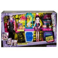 Monster High Monster Family of Draculaura Dolls Kitchen Play Set