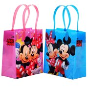 Mickey And Minnie Mouse 12 Party Favor Reusable Goodie Small Gift Bags