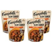(8 Pack) Campbell'sSlow Cooker Sauces Beef Stew, 12 oz. Pouch