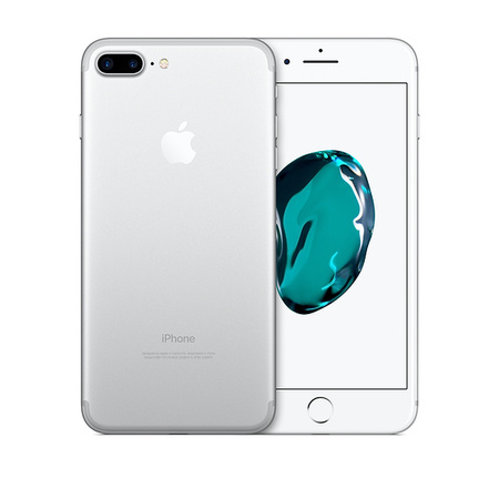 Refurbished Apple iPhone 7 Plus 128GB, Silver - Unlocked (Iphone 7 Plus Touch Screen Not Working Properly)