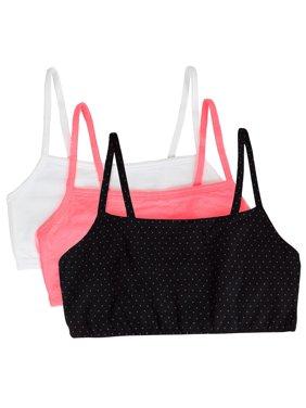 Women's Tank Style Sports Bra, 3-Pack, Style 9036