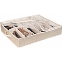 simplify under the bed shoe box, 12-pair