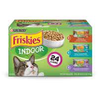 Friskies Indoor Adult Wet Cat Food Variety Pack - (24) 5.5 oz. Cans