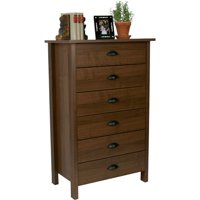 Nouvelle 6-Drawer Dresser, Multiple Finishes