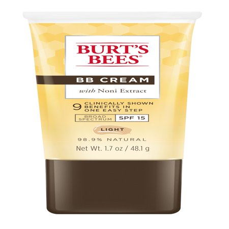 Burt's Bees BB Cream with SPF 15, Light, 1.7