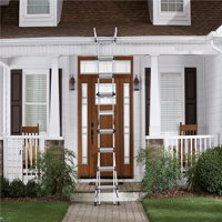 Cosco 18 ft. Aluminum 5-in-1 Multi-Position Ladder with 300 lb. Load Capacity Type IA Duty Rating