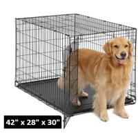 MidWest Single Door iCrate Metal Dog Crate