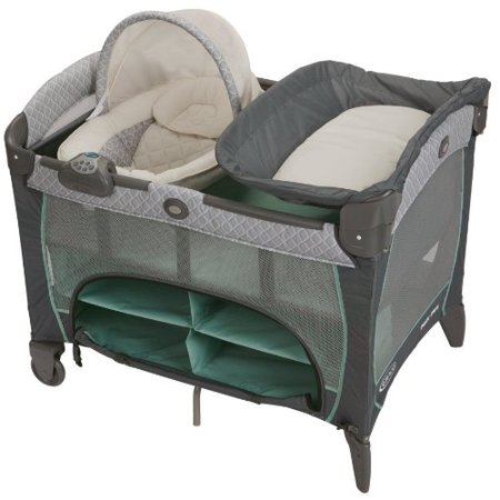 Graco Pack 'n Play Newborn Napper DLX Playard, - Newborn Napper Station