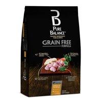 Pure Balance Grain-Free Chicken & Pea Recipe Dry Dog Food, 24 lb