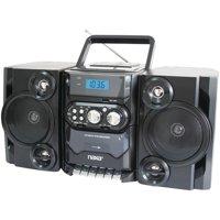 Naxa NPB428 Portable CD/MP3 Player with AM/FM Radio, Detachable Speakers, Remote & USB Input