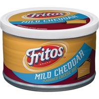 (2 Pack) Fritos Mid Cheddar Flavored Cheese Dip, 9 oz