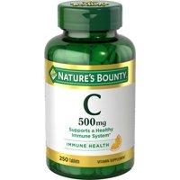 Nature's Bounty Vitamin C, 500mg Tablets, 250ct