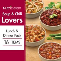 Nutrisystem Soup & Chili Lovers Lunch & Dinner, 16 Ct