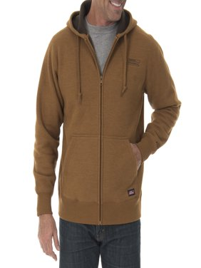 Men's Full Zip Thermal Hoodie with Warm Sherpa Lining