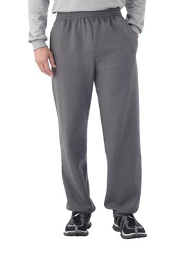 Fruit of the Loom Men's Dual Defense EverSoft Elastic Bottom Sweatpants