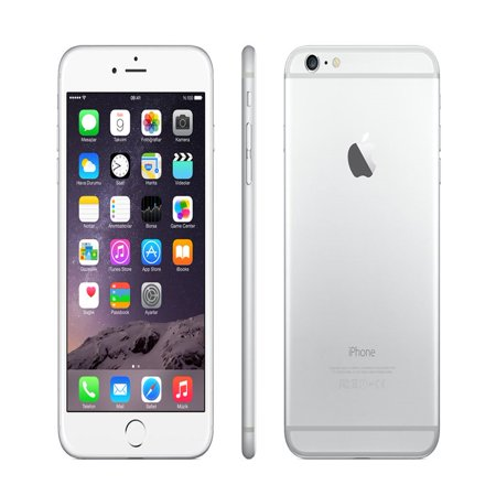 Apple iPhone 6s Plus AT&T Locked 128GB Silver (Scratch & Dent) ()