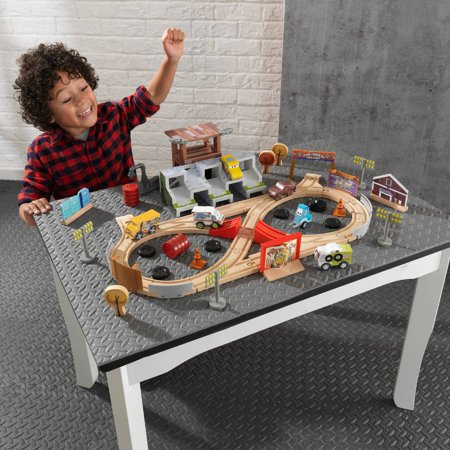 Disney® Pixar Cars 3 50 Piece Thunder Hollow Track Set By KidKraft with 55 accessories included Double Cab 4 Piece