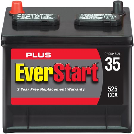 Everstart Plus Lead Acid Automotive Battery Group 35 Walmart Com