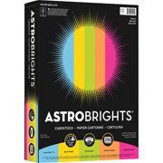 Astrobrights Nee99904 Colored Cardstock Paper Ortment 250 Pack Lunar Blue